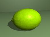 2ª actividad de modelado: Modelar  y texturizar  un limon -limon.jpg