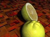 2ª actividad de modelado: Modelar  y texturizar  un limon -13limon.jpg