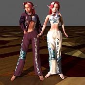 Las gemelas Pulsar  personajes mios -pijama.jpg