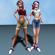 Las gemelas Pulsar  personajes mios -verano.jpg