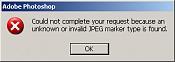 Error: Invalid JPEG marker-error.jpg
