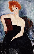 Sketchbook de RR-modigliani.redhead-dress.jpg