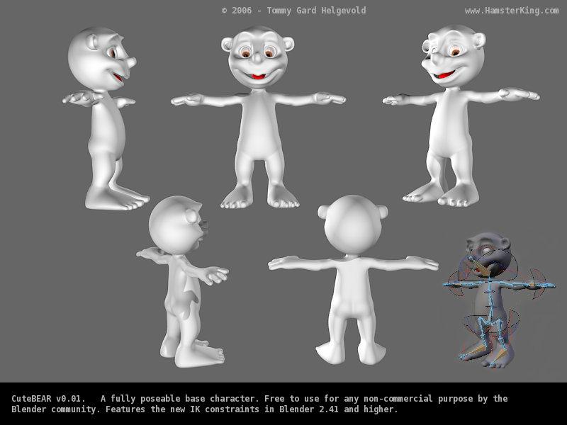 Magnífico Modelos Gratuitas Anatomía 3d Embellecimiento - Imágenes ...