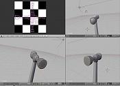 LSCM Unwrap, Blender  Texturizar martillo -uvmpping.jpg