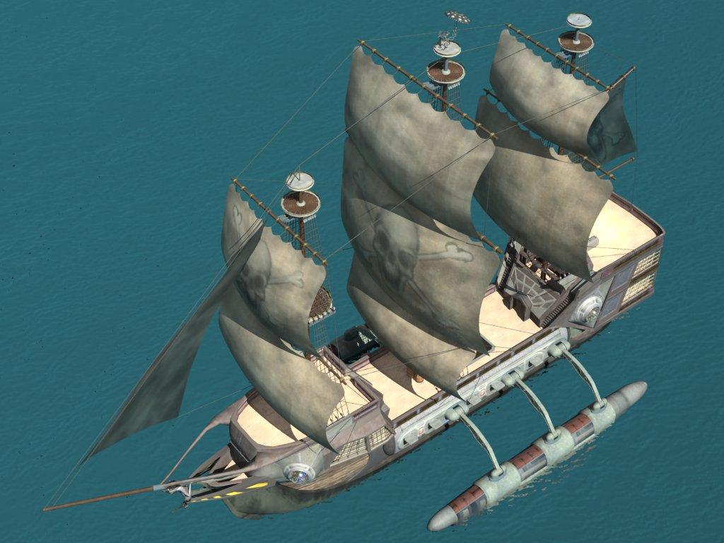 Famoso Anatomía De Un Barco Pirata Cresta - Anatomía de Las ...