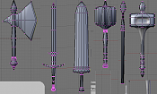 armas low poly :D  sin texturizar -weaponsdemostration2ld0.png