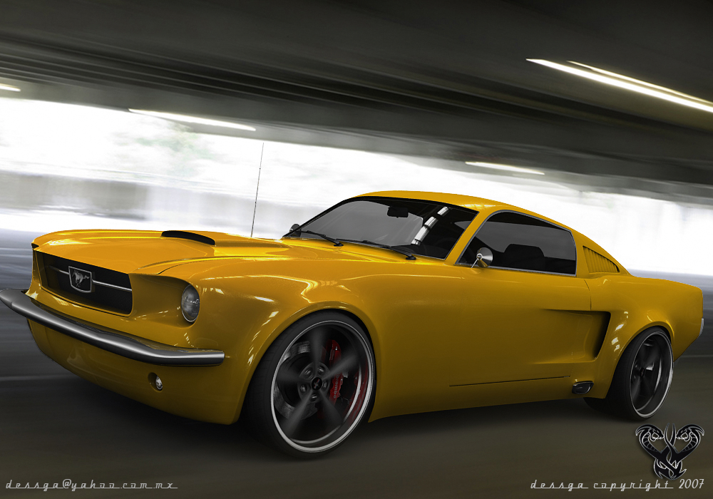 Ford Mustang 65 Racer