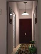 Pasillo de mi casa con vray-conalfombras3.jpg