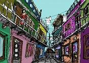 *El Dibujo del Dia *-callejon.jpg