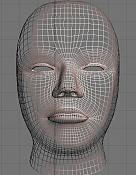 Cabeza humana realista   -frente-wire.jpg