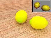 2ª actividad de modelado: Modelar  y texturizar  un limon -limonsey4.jpg