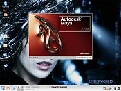 Maya 2008 en mi Slackware 12 : -screen.jpg