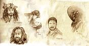 Dibujos rapidos , Bocetos  y apuntes  en papel -bocetos.jpg