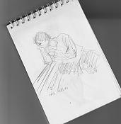 Dibujos rapidos , Bocetos  y apuntes  en papel -bocetillo-libreta2.jpg