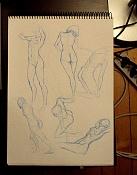 Dibujos rapidos , Bocetos  y apuntes  en papel -p8220002.jpg