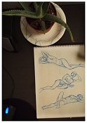 Dibujos rapidos , Bocetos  y apuntes  en papel -p8220003.jpg