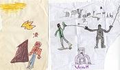 Dibujos rapidos , Bocetos  y apuntes  en papel -osysil.jpg