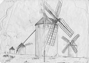 Dibujos rapidos , Bocetos  y apuntes  en papel -lamancha.jpg