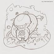 Dibujos rapidos , Bocetos  y apuntes  en papel -felicidad_by-herbiecans.jpg