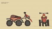 2ª actividad Videojuegos: Vehiculo Terrestre Lowpoly-pinocchio.jpg