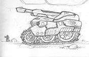 2ª actividad Videojuegos: Vehiculo Terrestre Lowpoly-tank2.jpg