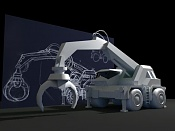 2ª actividad Videojuegos: Vehiculo Terrestre Lowpoly-grua04.jpg