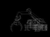 2ª actividad Videojuegos: Vehiculo Terrestre Lowpoly-grua05.jpg