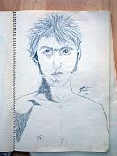 Dibujos rapidos , Bocetos  y apuntes  en papel -cuaderno-1.jpg