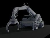 2ª actividad Videojuegos: Vehiculo Terrestre Lowpoly-grua07.jpg