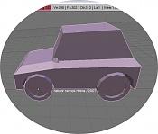 2ª actividad Videojuegos: Vehiculo Terrestre Lowpoly-compacto003.jpg