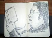 Dibujos rapidos , Bocetos  y apuntes  en papel -lec.jpg