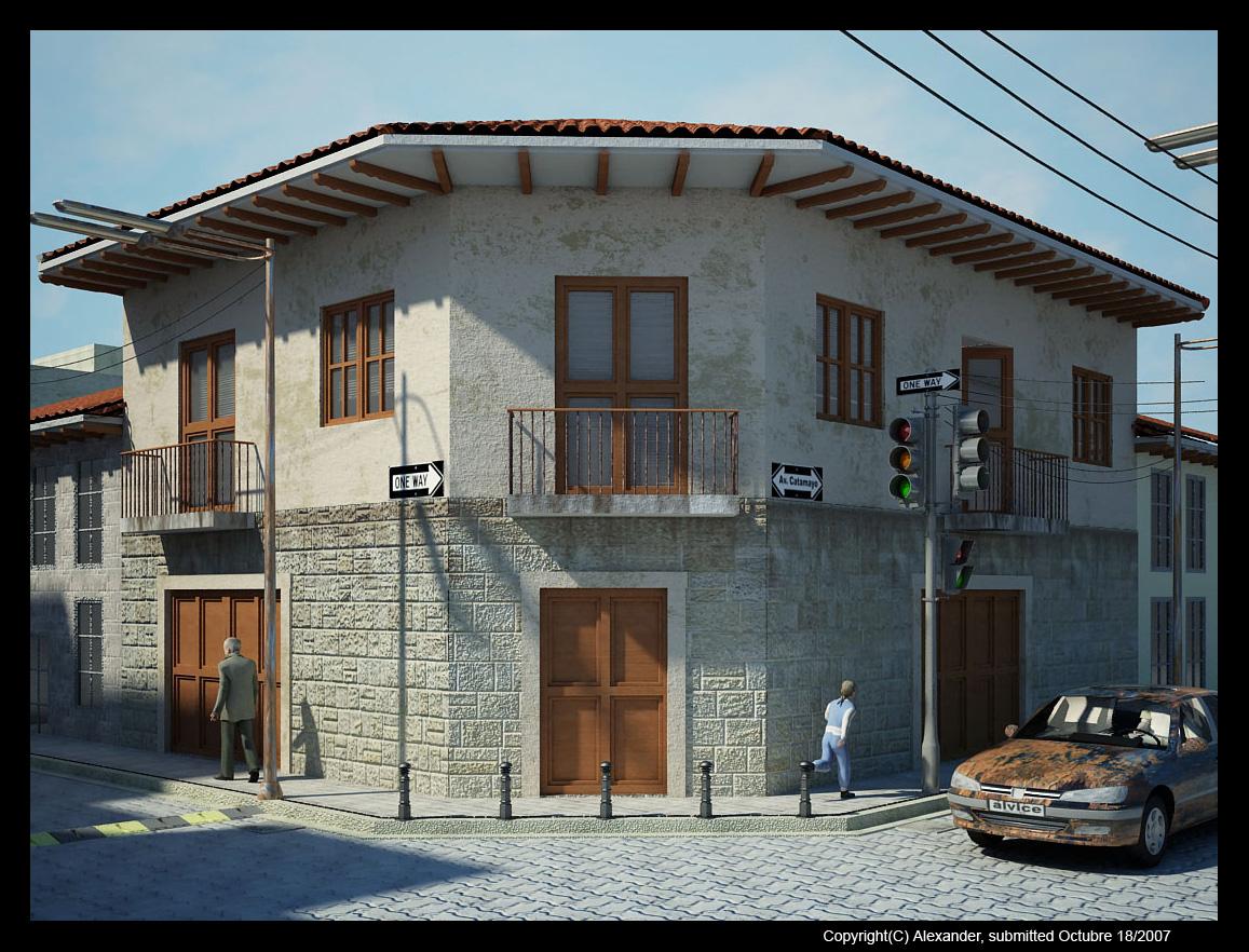 Casa en desarrollo casa tipo colonial - Casas tipo colonial ...