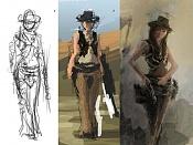 Reto - Bu vs Ballo  -- Steampunk-bocetos-varios.jpg