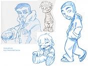Dibujos rapidos , Bocetos  y apuntes  en papel -bocetos-cartoon_by-herbieca.jpg