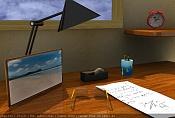 Mi primer trabajo  WIP -escritorio3dpoder.jpg