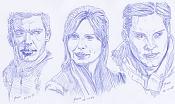 Dibujos rapidos , Bocetos  y apuntes  en papel -sp3.jpg