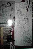 Dibujos rapidos , Bocetos  y apuntes  en papel -judit2.jpg