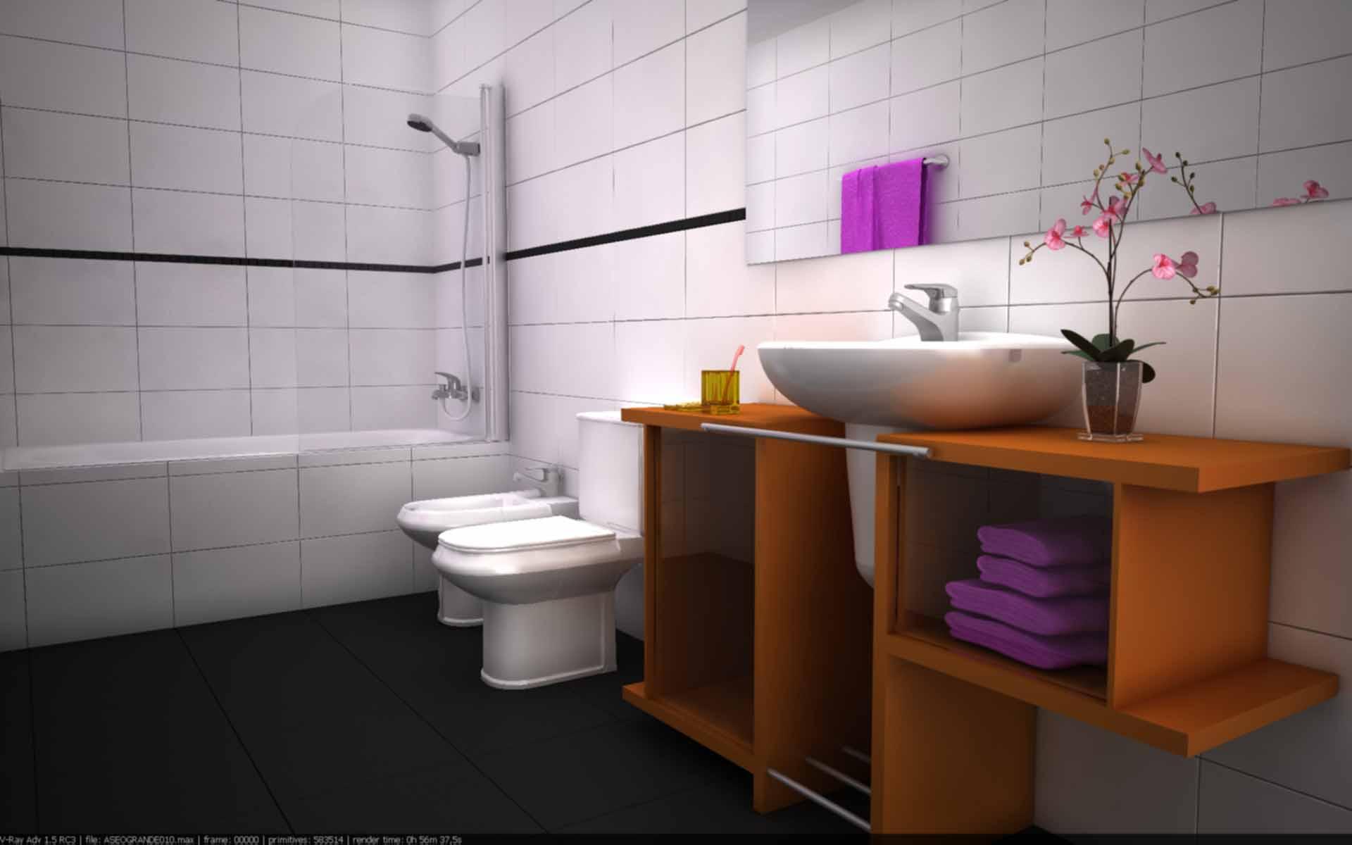 Iluminacion Interior Baños:Como mejorar esta iluminacion interior-bano-010-forojpg