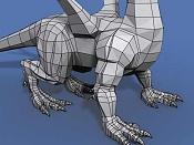 Mas avances en el Dragon  ahora un ciclo de andar -smaug-wip_04a.jpg