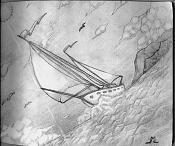 Dibujos rapidos , Bocetos  y apuntes  en papel -barquito_m0l.jpg