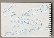 Dibujos rapidos , Bocetos  y apuntes  en papel -boceto-el-viaje.jpg