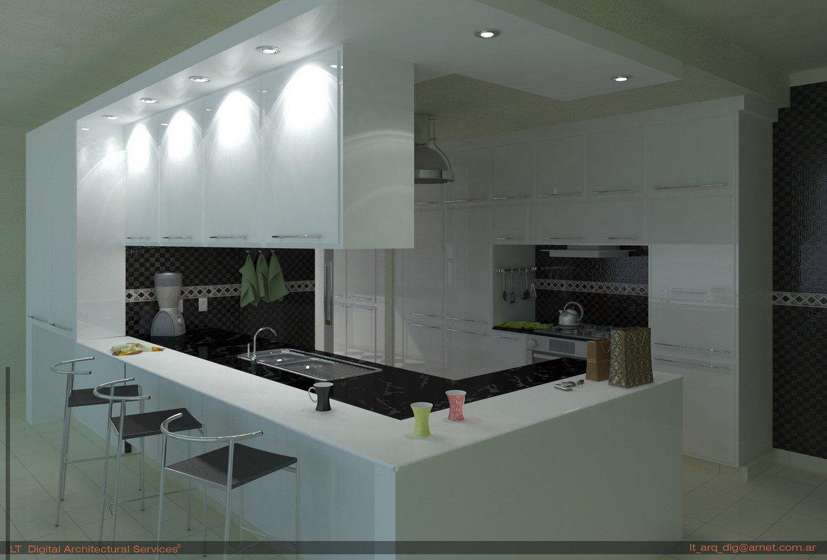 Interior Cocina Y Lavadero