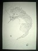 Dibujos rapidos , Bocetos  y apuntes  en papel -dragon.jpg