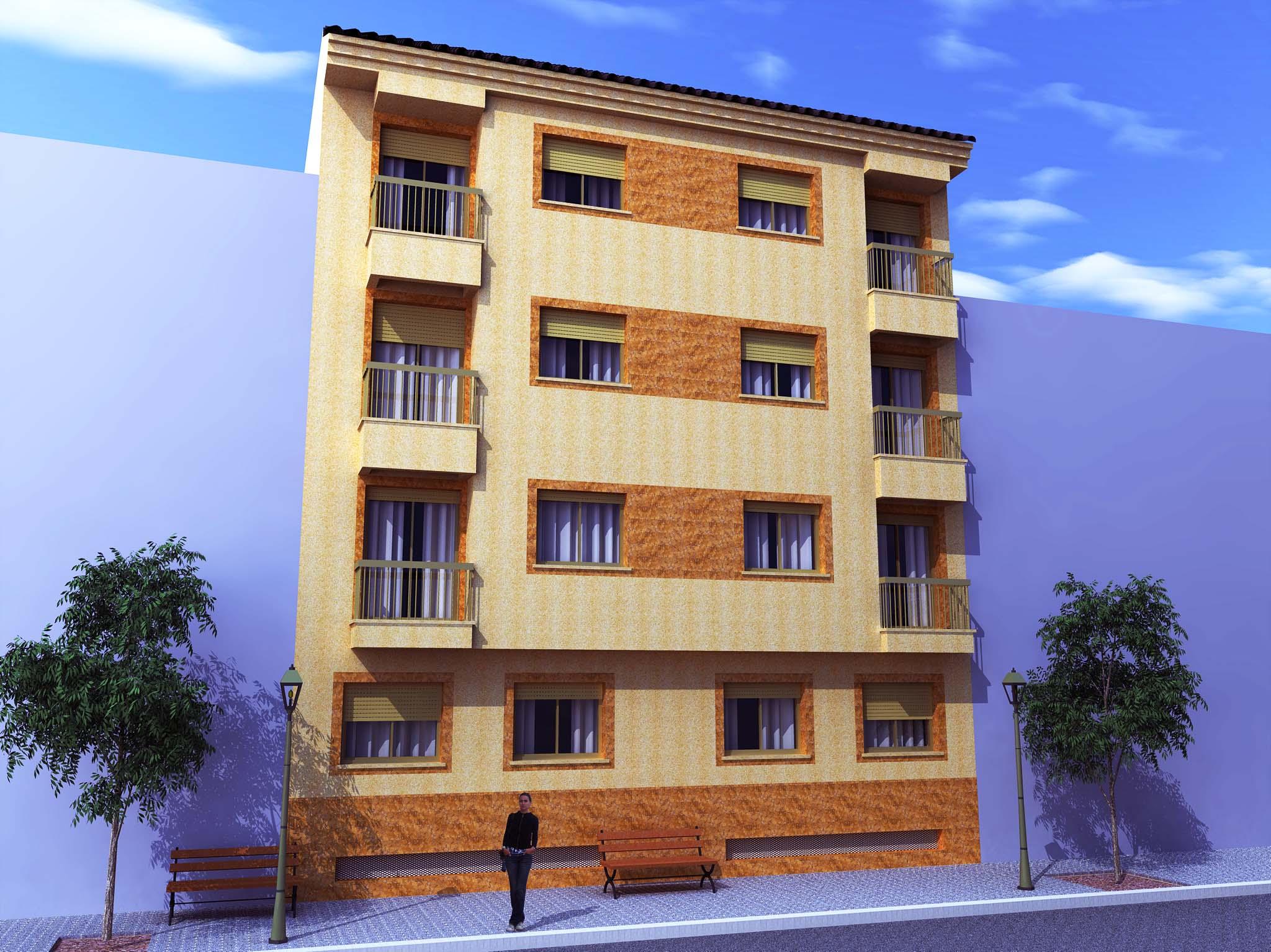 Fachada edificio for Fachadas contemporaneas de edificios