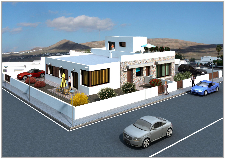 Fachada vivienda for Fachadas de viviendas
