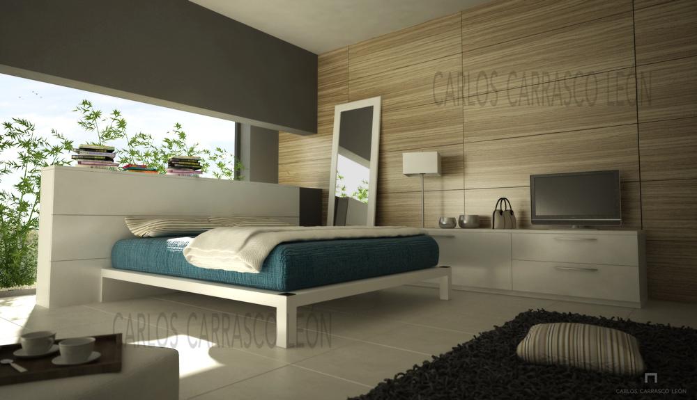 Dise o de interior dormitorio for Diseno de dormitorios