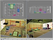 Corto 3d  Como lo ves -habitacion.wire.jpg