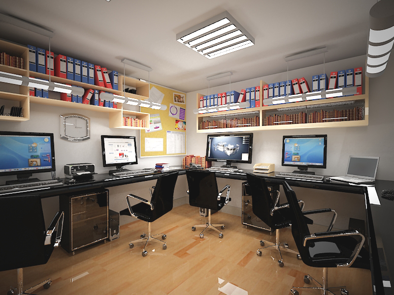 Interior oficina for Interior oficina
