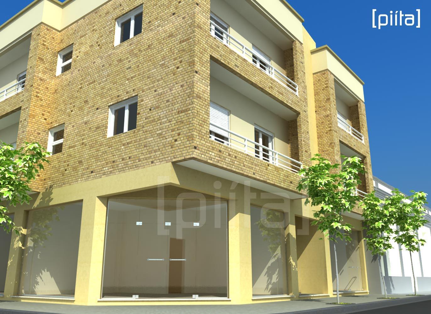 Exterior de un edificio for Exterior edificios
