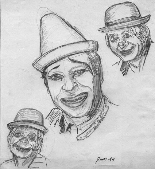 Dibujos A Lapiz De Payasos Cholos Imagui